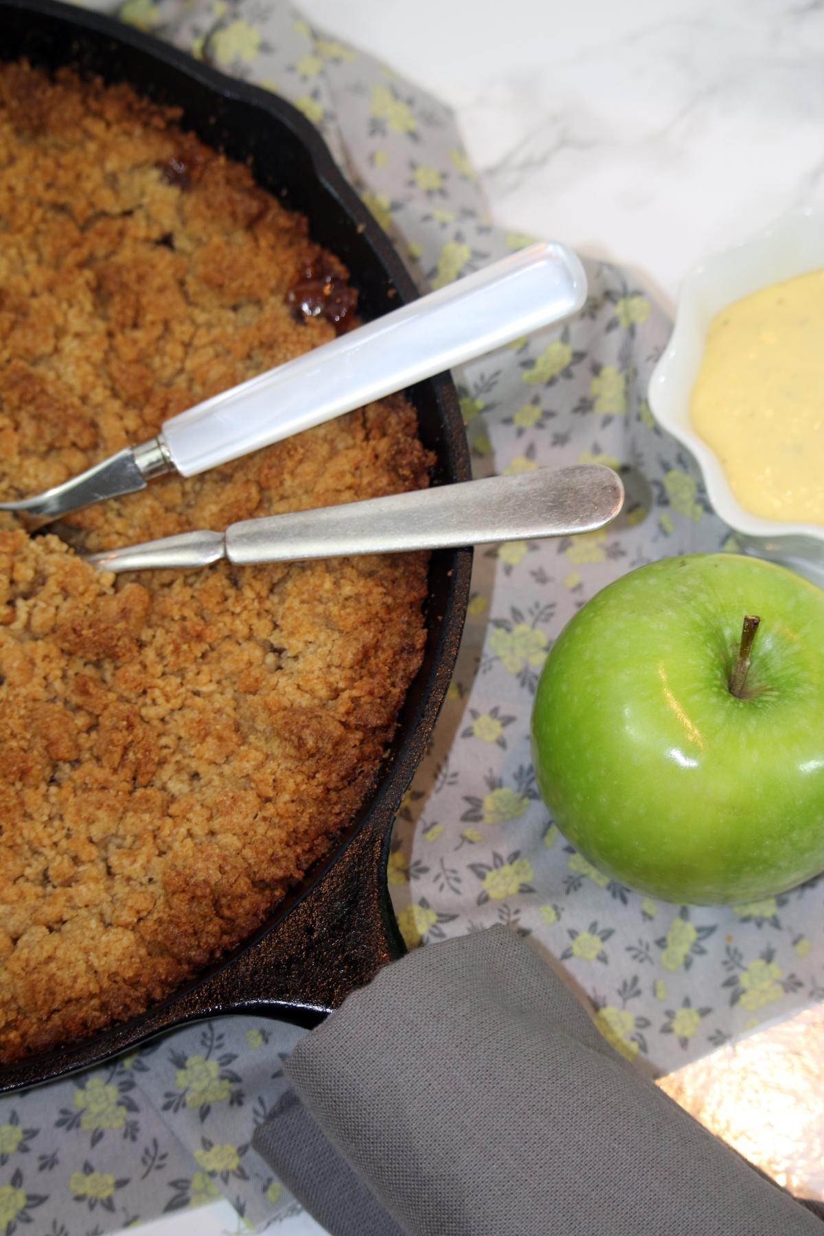 side-apple-pie